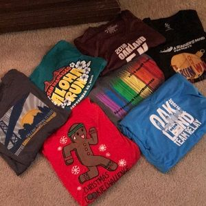 Tops - NEW! Bundle of 7 San Francisco Race Shirts
